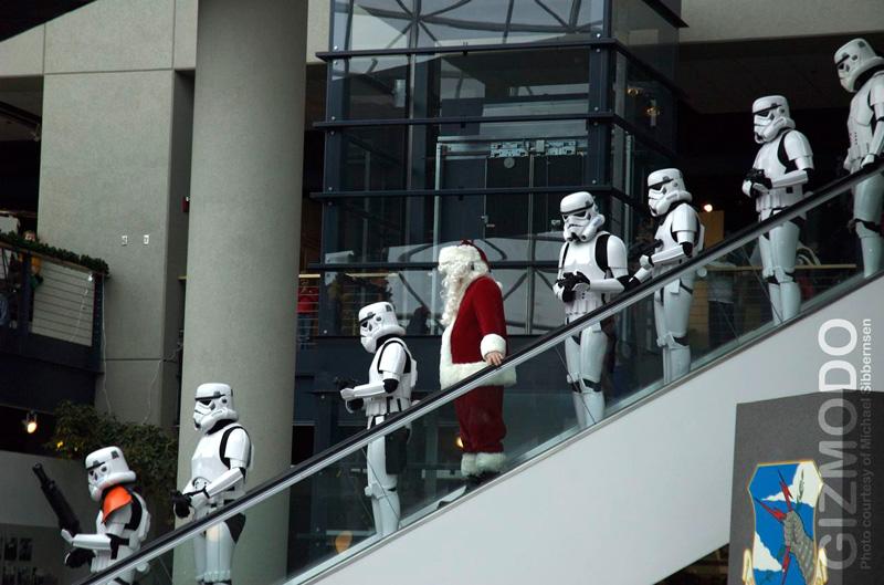 arrestation Père Noel