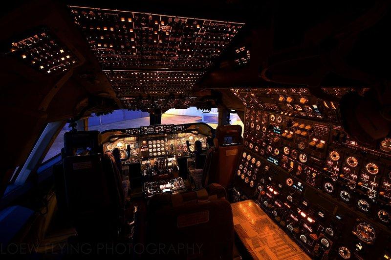 Cockpit avion