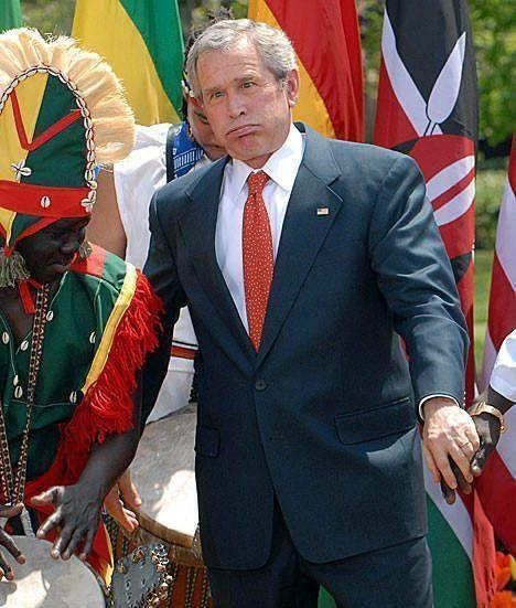 George W. Bush Afrique