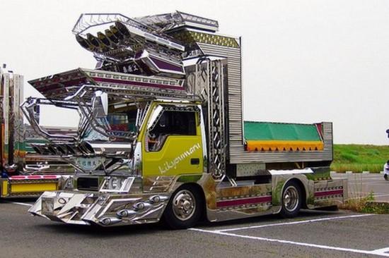 Camion modifié