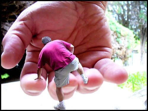 Langage avec mains