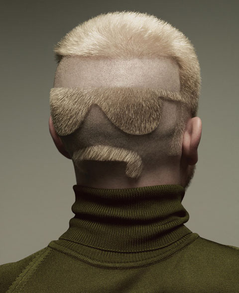 Drôle coiffure