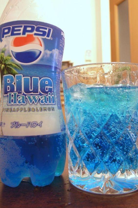 Pepsi bleu