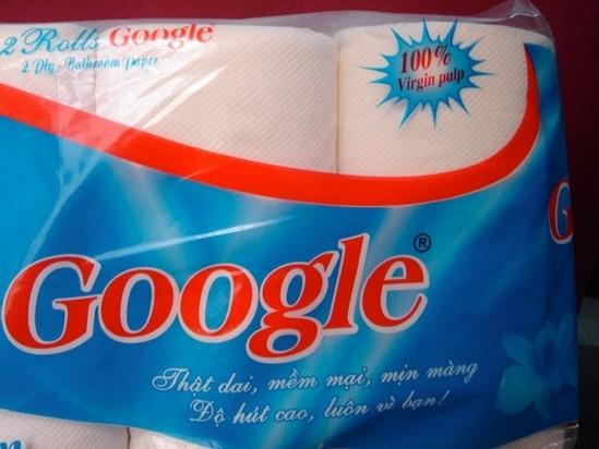 Papier toilette Google