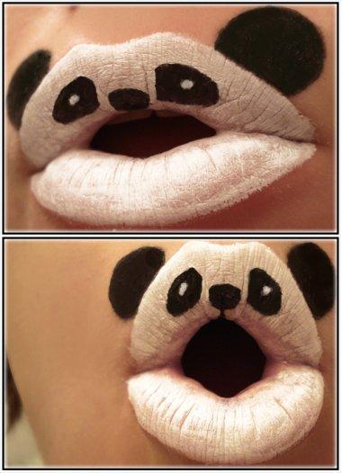 Lèvres drôles