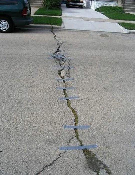 Réparation routes
