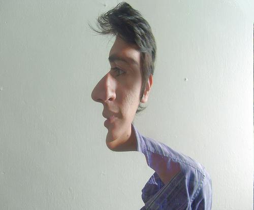 Illusion visage