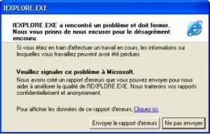 Problème Windows