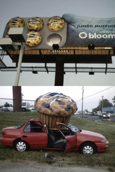 De gros muffins