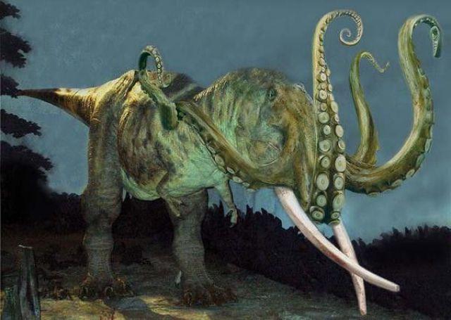 Monstre préhistorique