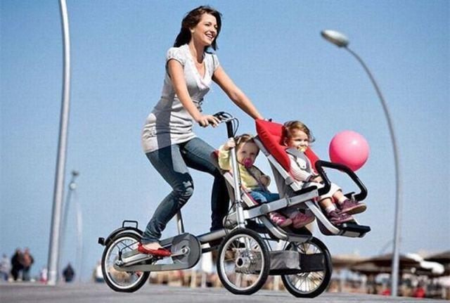 Vélo pour 2 enfants