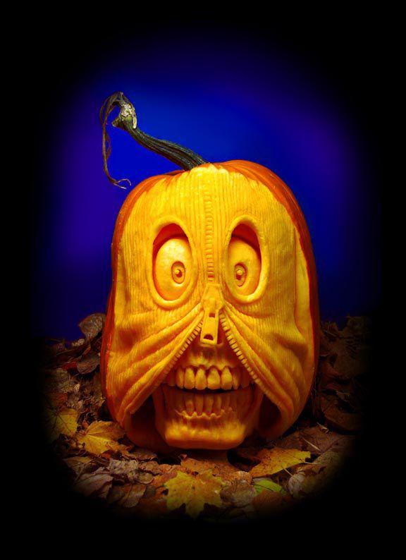 Découper citrouille Halloween