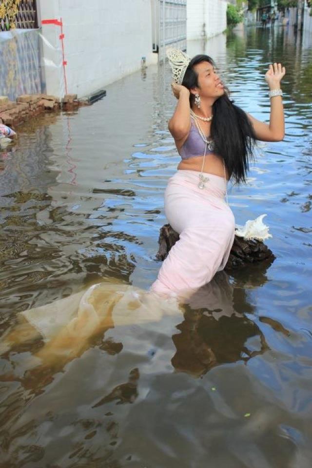 Innondations Thailande