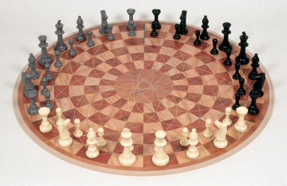 Jeu échecs 3 joueurs