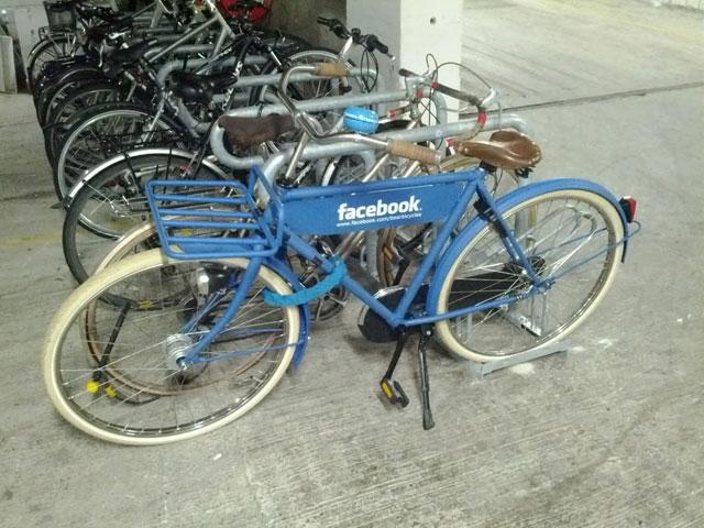 Vélo Facebook
