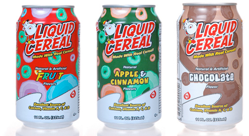 Céréales à boire
