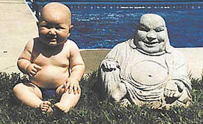 des sacrés bébé Bebe-boudha