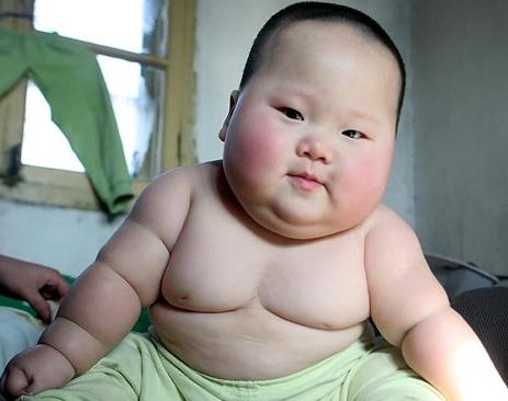 Vraiment un gros bébé!