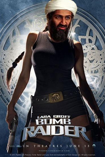 ben laden lara croft