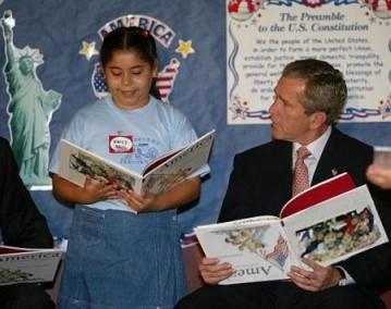 lecture président Georges W. Bush