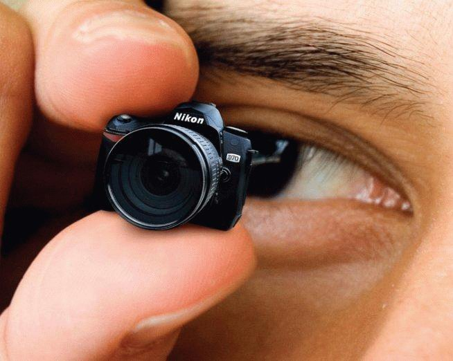 une petite caméra