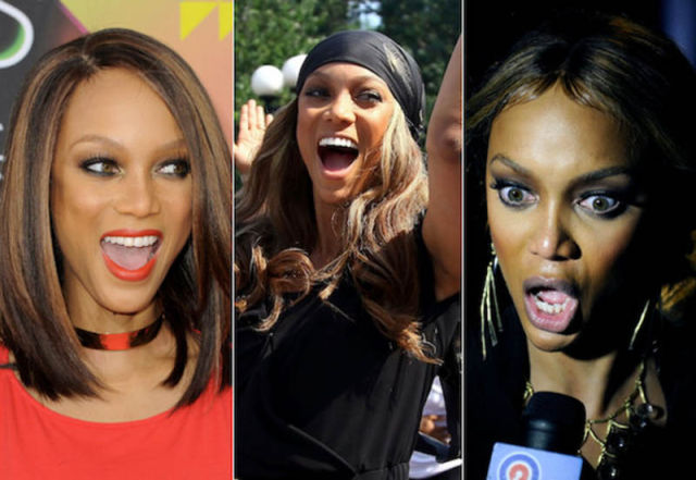 Sourire Tyra Banks