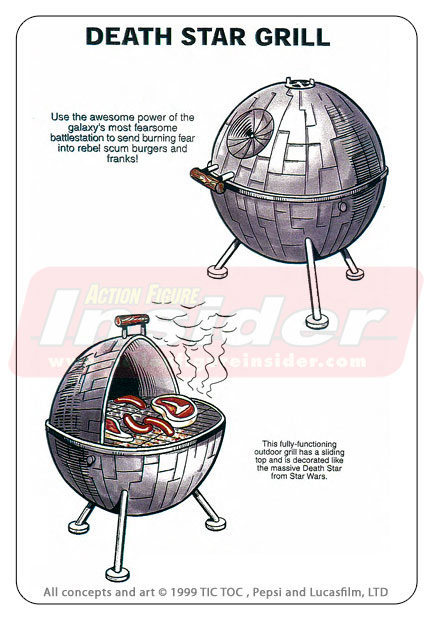 Barbecue Star Wars