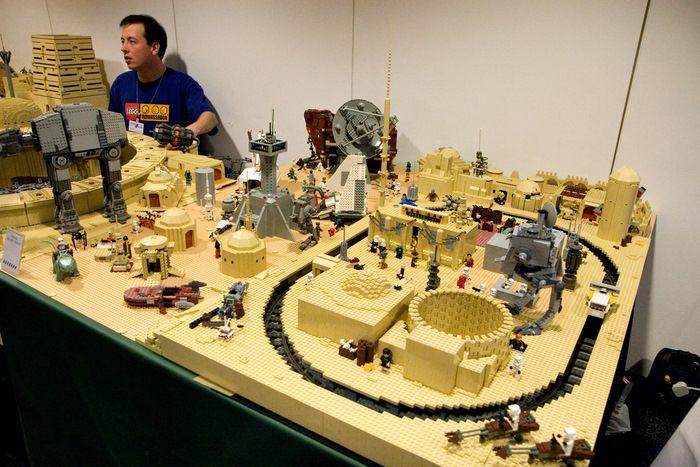 Une super collection de lego de la guerre des étoiles