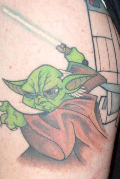 Des tatouages de star wars!