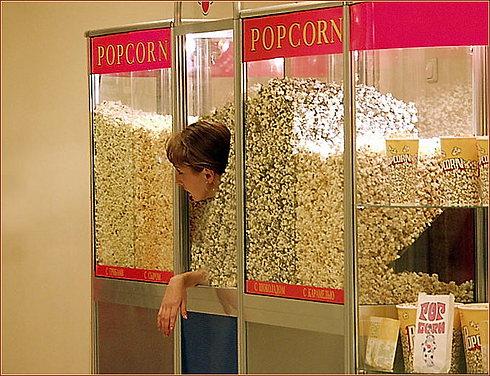 popcorn au cinéma!