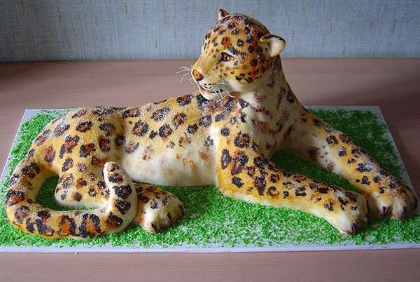 الأبداع الفنى يظهر فى التورتات أيضا ً ، صور لحلويات غاية في الابداع gateau-animal.jpg