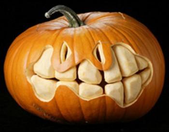 Photos amusantes et dr les de citrouilles d 39 halloween - Model citrouille d halloween ...