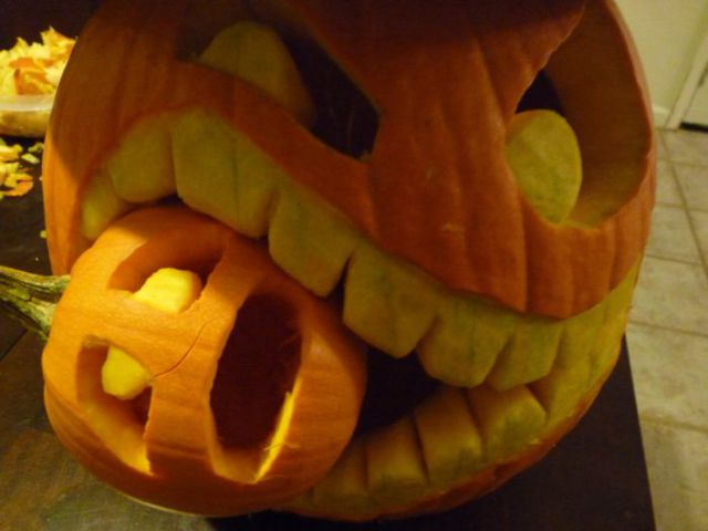 Comment D 233 Couper Une Citrouille D Halloween