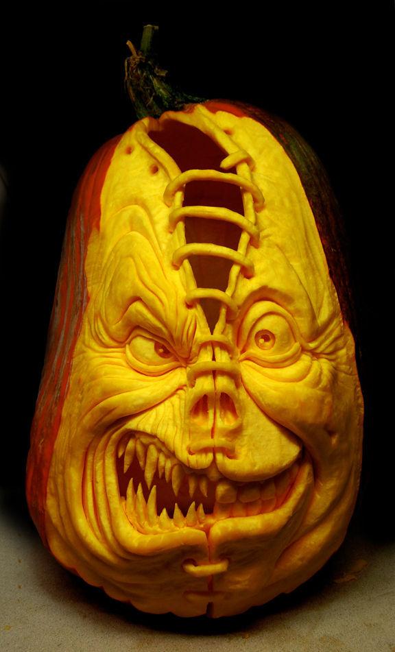Modele Citrouille Halloween Image