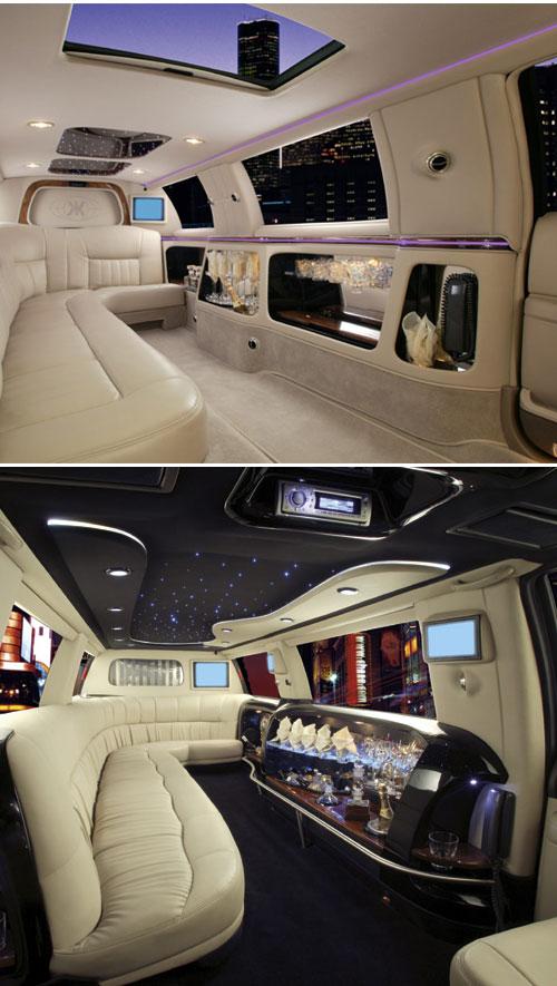 فخامة الليموزين من الداخل - مذهل - Limousines_cuir_2