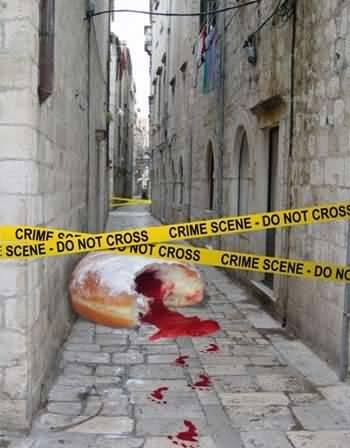 sur la scène du crime sur la scène du crime