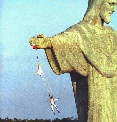 accident de parachute