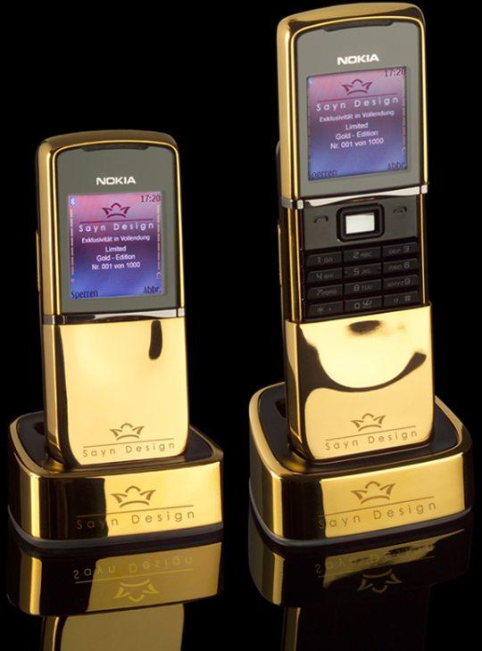 Nokia 8800 Sirocco Diamond