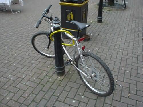 vol bicyclette